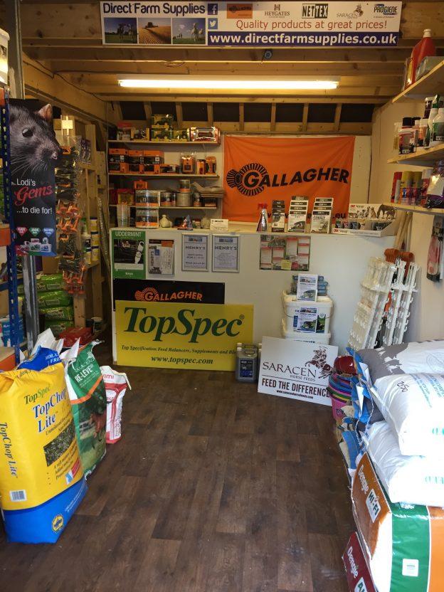Direct farm supplies shop