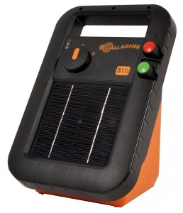 Gallagher solar energisers S10