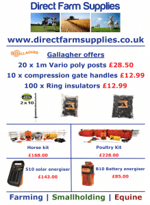 Gallagher electric fencing offers